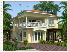 Fireproof green high quality prefabricated homes plan(Manufacturer)