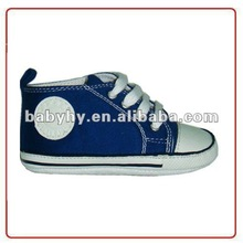 2012 fashion new style happy wholesale factory canvas casual girls baby shoes pattern BH-CA108E