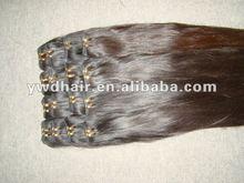 Full cuticle natural virgin indian silky straight wavy