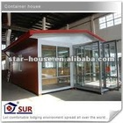 Factory-built mobile home as shop/hotel/apartment/workshop/office/villa/domitory(certified by CE,B.V.,CSA &AS)