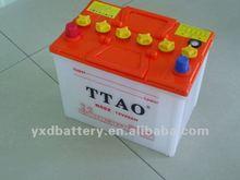 55D23L auto start car storage battery 60ah