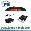 12v LED display indicator 4 sensors system parking car reverse radar kit