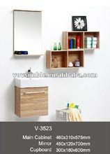 melamine bathroom vanity,vanity cabinet,basin cabinet,wooden furniture model,sanitary ware,Kitchen & Bath China in 2012