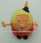 Stuffed and plush cartoon dolls, cartoon boys and girls