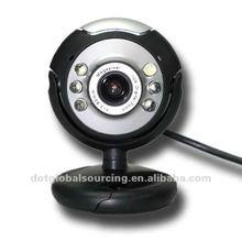 New USB 6 LED Night Vision Webcam Webcam Camera For PC