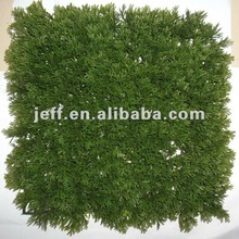 Artificial Pine needle grass leaf Panels Mat turf lawn carpet products