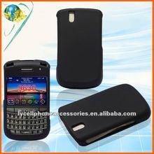 For Blackberry 9630 black Rubberized hard phone case