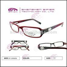 Qualified Fake Acetate Glasses 2012 Hot Sale Handcraft