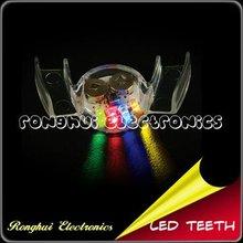 cute led flashing teeth halloween party supplies