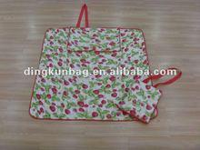 fashion nonwoven folded beach mat