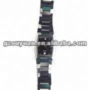 Exquisite fashion tungsten watch 2012/Customied Couple tungsten watch