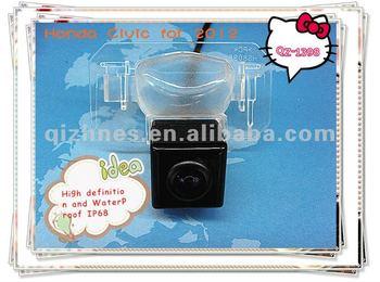 New product QZ-1398 170 degree 12v waterproof car parking camera for honda