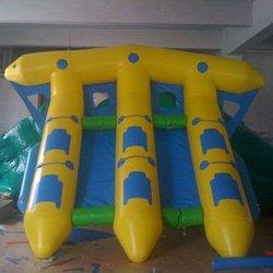 2012 {Qi Ling} three tube water banana boats from professional factory
