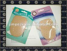 Leather Heel Cushions/latex heel cups/HIGH HEEL CUPS