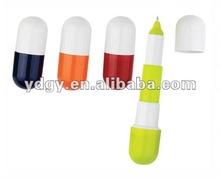 Pill Shape Ball Pen