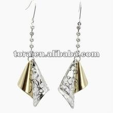 2012 fashion fish hook hollow out tassels Earrings