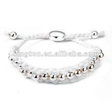 wholesale different color handmade beaded stretch bracelet 1