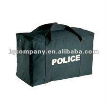 Military Black Side Zipper Canvas Duffle Bags