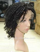 molado curl human hair lace wigs