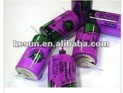100% New TADIRAN TL-5902 1/2AA 3.6V PLC Lithium Battery with Tabs TL5902 (TL-5902)