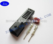 2P Hayabusa Style male Injector Auto Connector, used on KTM, and Suzuki Motorcycles