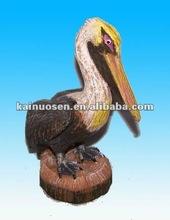 Hotsale resin pelican figurine