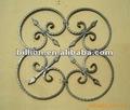 2012 novo design china fabricante martelado painéis de ferro fábrica de hebei martelado barra sólida