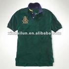 180g Tipped Collar Polo T-shirt 100% Cotton