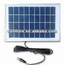 small poly 9v/6w solar panel
