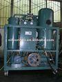De la turbina de vacío de procesamiento de aceite, Purificador de aceite / filtración de aceite hidráulico unidad
