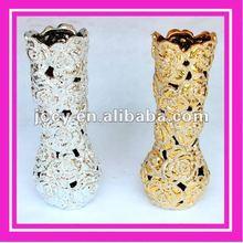 Gold Electroplating Vases