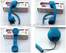 retro cellphone headset /mobile phone accessories/iphones accessories