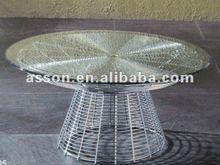 Wire cone coffee table (#ACAS14)---Designer Furniture/ Modern Classic Furniture