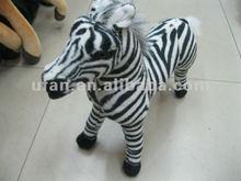 Plush wildlife animals zebra 15 Inch toy