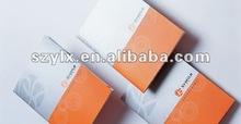 2012 good quality brochure printing service with full color