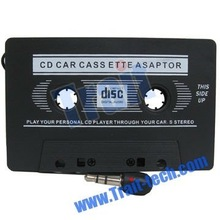 MP3/MD/CD/VCD/DVD/PDA/GAME BOY/IPOD/iPhone 3.5mm Plug Car Music Audio Cassette Tape Adapter/converter player