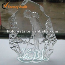 Fashion Ice crystal decoration