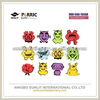 Adhesive cartoon animals shapes 808-556-1555A