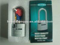 ZS-168 combination lock padlock, padlock alarm lock