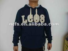 2012 , fashion high quality sportwear men fleece hoodie
