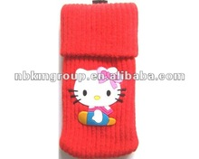 New design handmade hello kitty phone bag