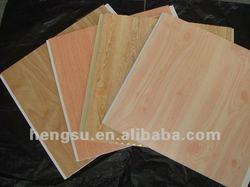 False wood Foil decorative panel