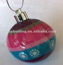 2012 New arrival, christmas ball,paper christmas ball,foam christmas ball
