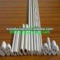 High purity99-99.7% ceramic high alumina Al2O3 pipe and tube with holes