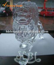 Grand crystal lion