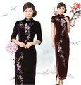 el diseño superior chino cheongsam vestido tradicional chino