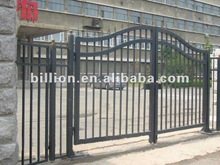 2012 new design manufacter iron outside door iron entrance gates railings handrail fencing design