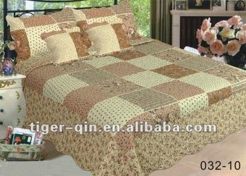 3d cotton bed cover set