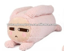 2012 lovely and fashionable custom decorative panst soft stuffed plush pillow and cushion