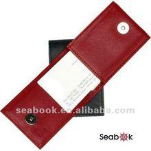 pu leather credit card case , business card case